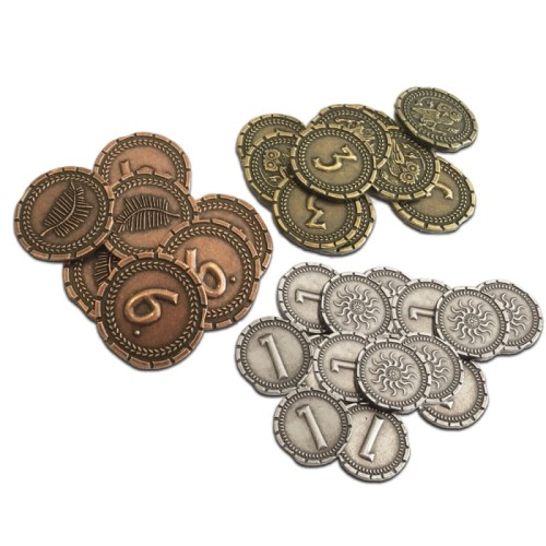 7 Cudów Świata: Pojedynek - metalowe monety