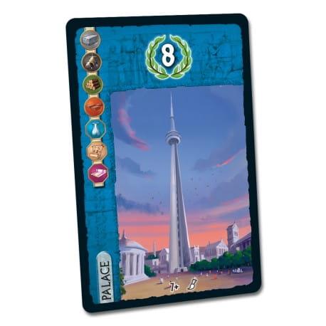 7 Cudów Świata: CN Tower Pałac (7 Wonders CN Tower Palace)