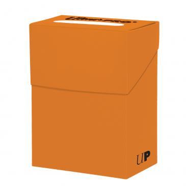 Pudełko na karty Ultra-Pro Deck Box pumpkin orange (dyniowe)