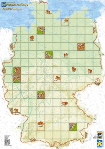 Carcassonne: Mapa Niemiec (druga edycja)