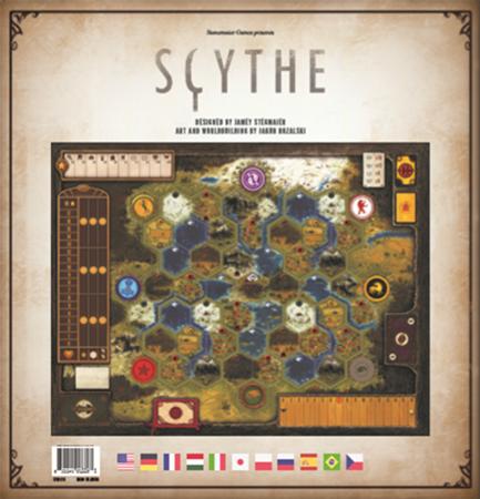 Scythe: Modularna plansza