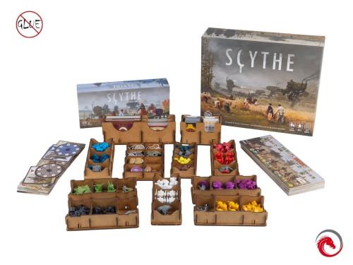 Insert do gry Scythe z dodatkiem Najeźdzcy z Dalekich Krain