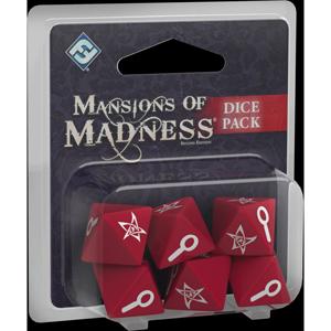 Mansions of Madness - zestaw kości (Posiadłość Szaleństwa)