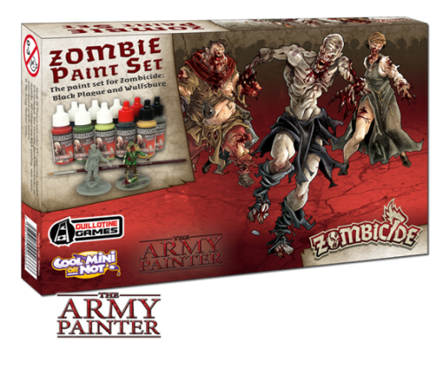 Army Painter: zestaw farb do Zombicide Czarna Plaga