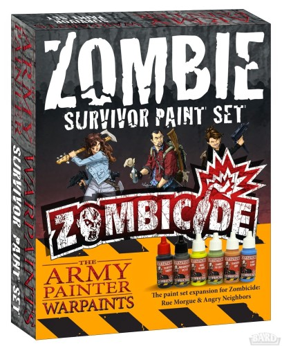 Army Painter: zestaw farb do Zombicide - survivor paint set