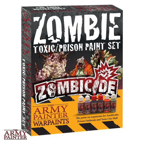 Army Painter: zestaw farb do Zombicide - toxic/prison paint set