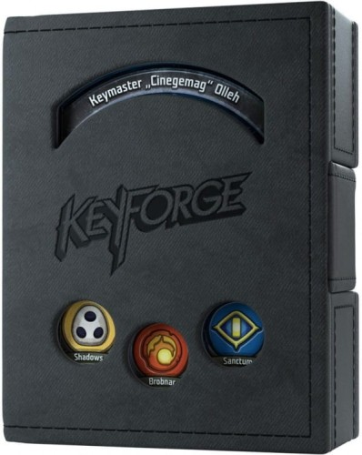 Gamegenic: KeyForge - Deck Book Black