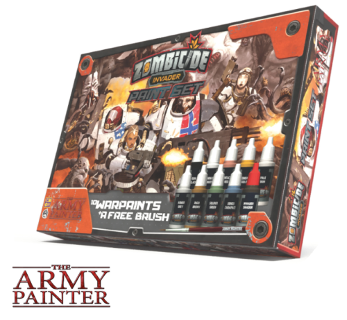 Army Painter: zestaw farb do Zombicide - Invader paint set