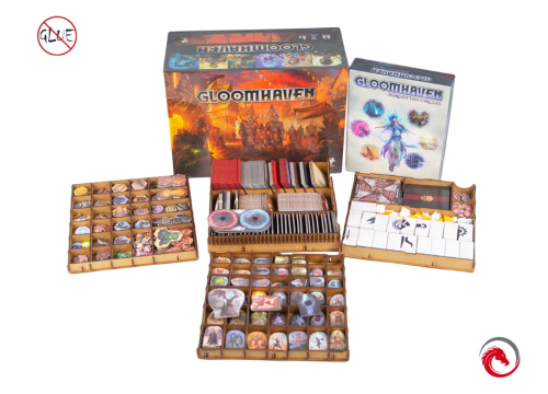 Insert do gry Gloomhaven z dodatkiem Forgotten Circle