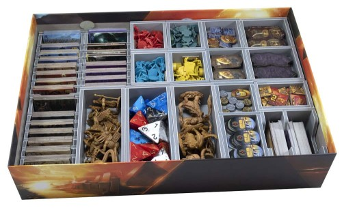 Folded Space: organizer do gry Kemet