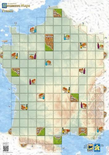 Carcassonne: Mapa Francji (druga edycja)