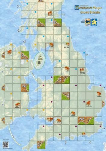 Carcassonne: Mapa Wielkiej Brytanii (druga edycja)