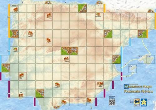Carcassonne: Mapa Półwyspu Iberyjskiego (druga edycja)