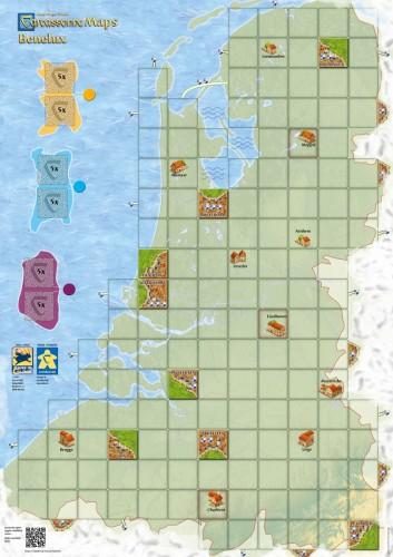 Carcassonne: Mapa Benelux (druga edycja)