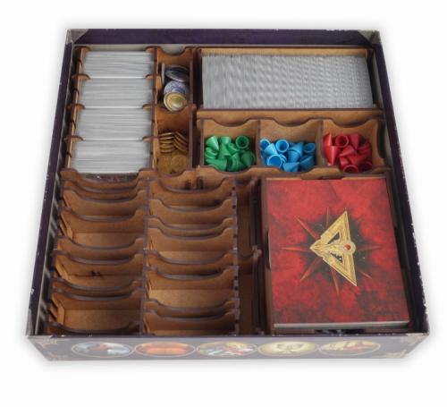 Insert do gry Talisman: Magia i Miecz oraz 3 małych rozszerzeń