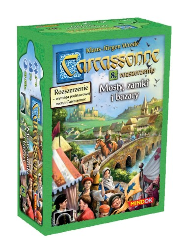 Carcassonne: 8. Mosty, Zamki i Bazary (druga edycja)