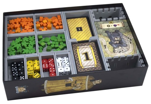 Folded Space: organizer do gry Troyes