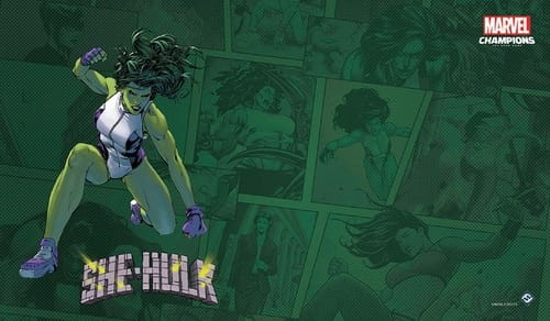 Marvel Champions: The Card Game - She-Hulk Game mat