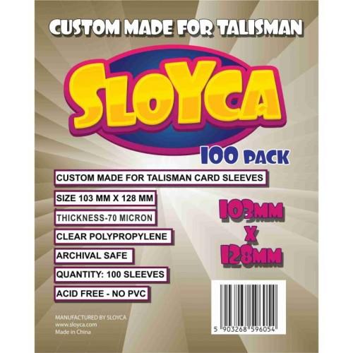 Koszulki na karty Sloyca Talisman (103x128 mm) 100 sztuk