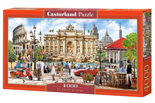 Puzzle 4000 Splendor Rzymu