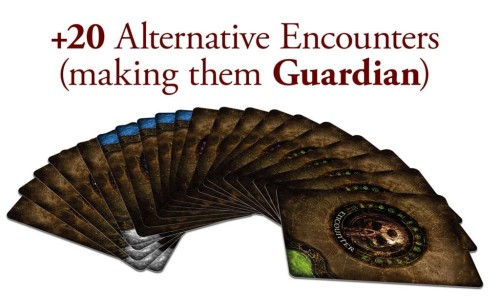 Tainted Grail: The Fall of Avalon - Past and Future Alternative Encounters Card Pack