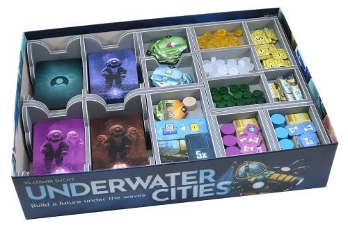 Folded Space: organizer do gry Podwodne Miasta (Underwater Cities)