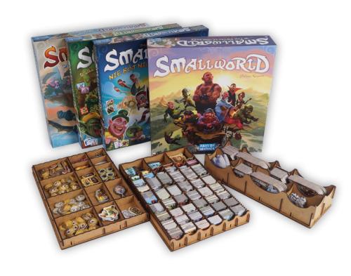 e-Raptor: Insert do gry Small World + dodatki