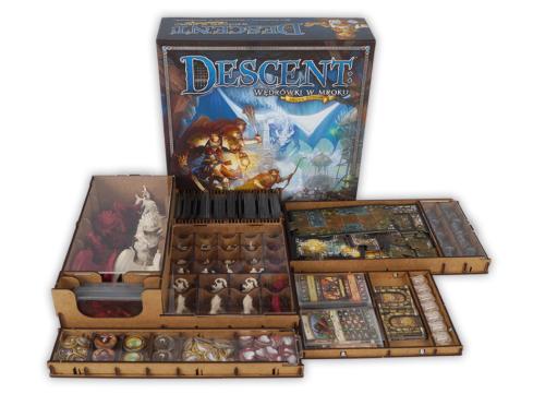 Insert do gry Descent: Wędrówki w mroku (2 edycja)