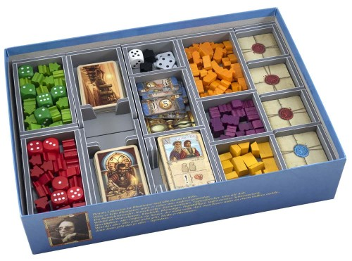 Folded Space: organizer do gry The Voyages of Marco Polo (v2)