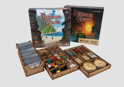 Insert do gry Robinson Crusoe 2ed + Mystery Tales