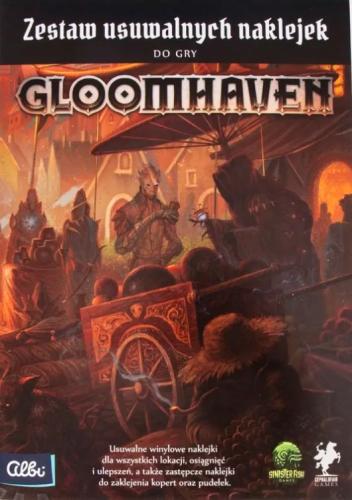Zestaw usuwalnych naklejek do Gloomhaven