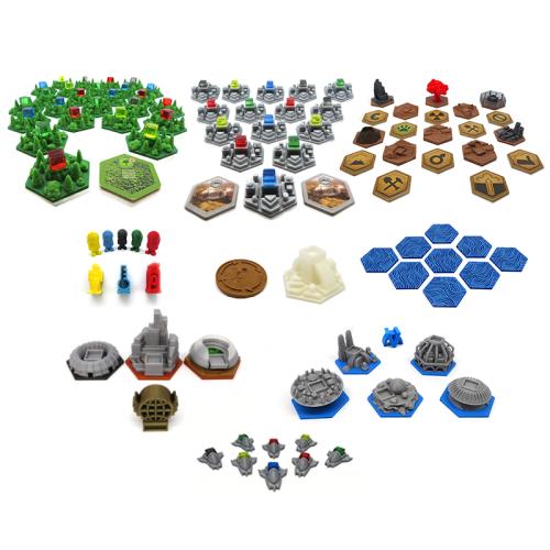 Elementy zamienne do gry Terraformacja Marsa oraz dodatków