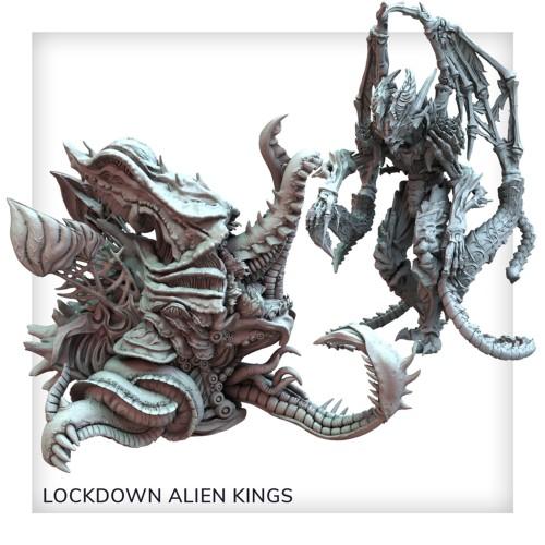 Nemesis: Lockdown: New Alien Kings set