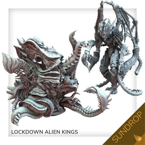 Nemesis: Lockdown: New Alien Kings set (Sundrop)
