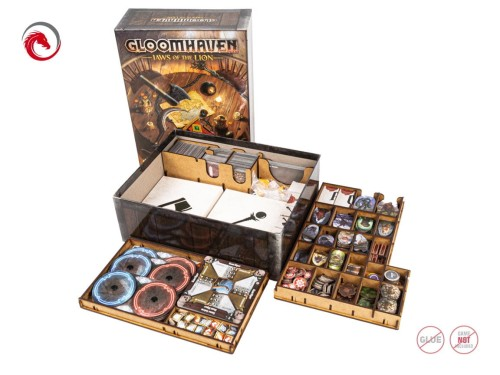 Insert do gry Gloomhaven: Jaws of the Lion