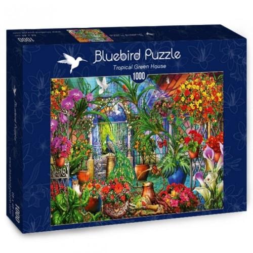 Puzzle 1000 Tropikalny domek - Ciro Marchetti