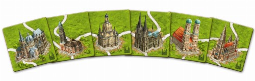 Carcassonne: Niemieckie katedry (druga edycja)