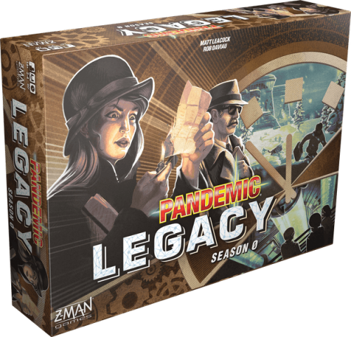 Pandemic Legacy: Season 0 (bez folii)