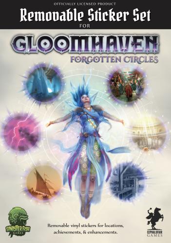 Gloomhaven Forgotten Circles: Removable Sticker Set