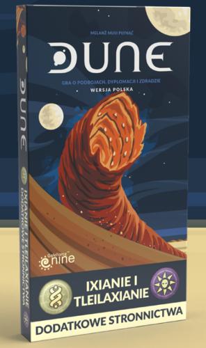 Dune: dodatkowe stronnictwa - Ixianie i Tleilaxianie