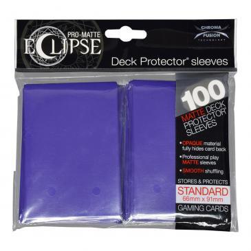 Koszulki na karty Ultra-Pro Pro-Matte Eclipse Royal Purple 66x91 mm 100 sztuk (fioletowe)