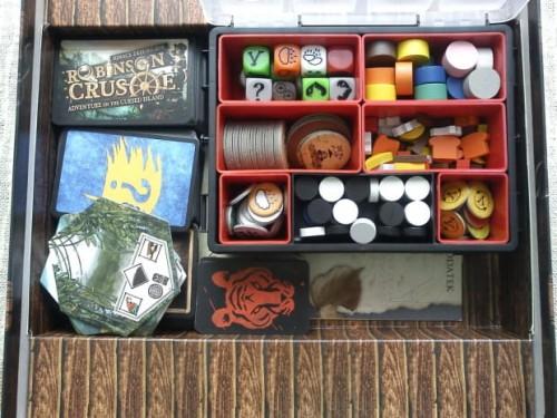 Organizer - zestaw do gry Robinson Crusoe