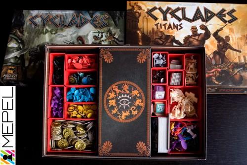 Organizer - zestaw Cyklady + Hades + Tytani