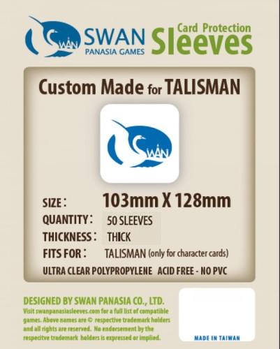 Koszulki na karty Swan Panasia Talisman 103x128 mm thick (grube) 50 sztuk