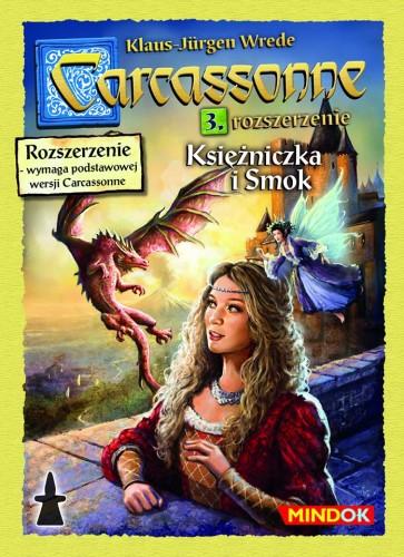 Carcassonne: 3. Księżniczka i Smok (druga edycja)