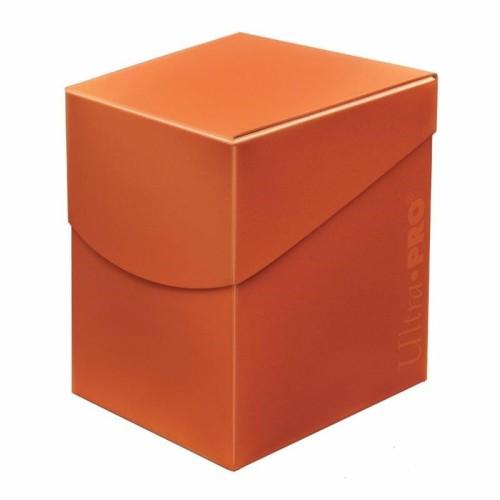 Pudełko na karty Eclipse PRO 100+ Pumpkin Orange