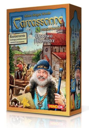 Carcassonne: 5. Opactwo i Burmistrz (druga edycja)