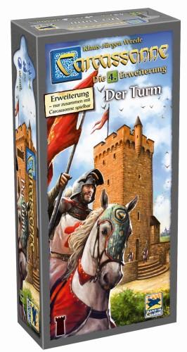 Carcassonne: 4. Wieża (druga edycja, wydanie skandynawskie)