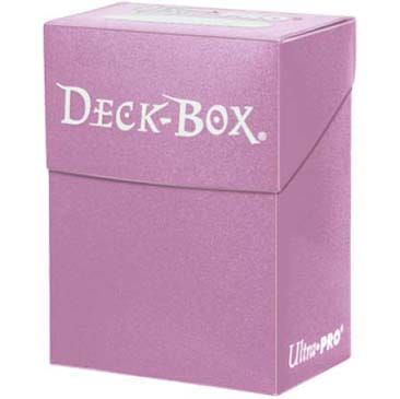 Pudełko na karty Ultra-Pro Deck Box pink (różowe)