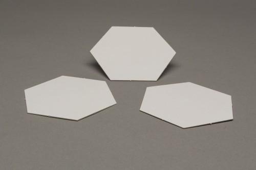 Pusty kafelek hex 45 mm (Catan)